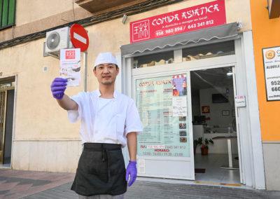 Comida asiatica Lin