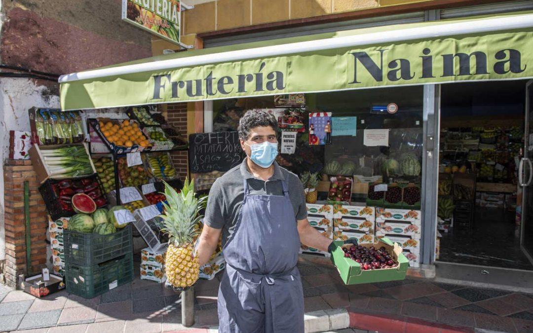 Frutería Naima. Servicio a domicilio