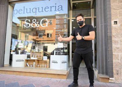 Sergio García peluqueros
